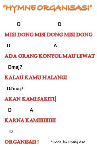 hymne organisasi